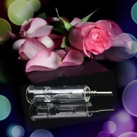 Laboratory Glassware Mini Glass Nectar Collector With with Titanium Nail 14mm
