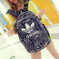 Adidas Bookbag Trending Fashion Sport Laptop Bag Shoulder School Bag Backpack