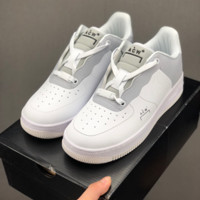 HCXX 19July 669 A-Cold-Wall x Nike Air Force 1 BQ6924-100 Low full length Solo Air Cushion Casual Board Shoes