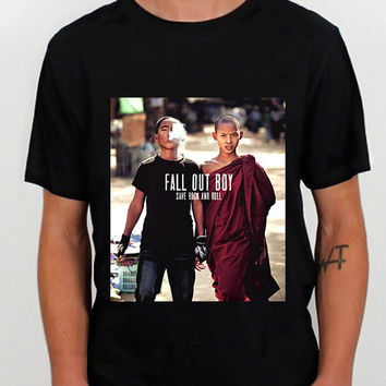 Fall Out Boy Save Rock and Roll design clothing for T Shirt Mens and T Shirt Girls