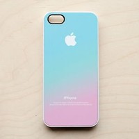 Pastel iPhone Case 6 5S 5C 5 4 4S Apple Logo Ombre Pink Aqua Blue Hipster Galaxy