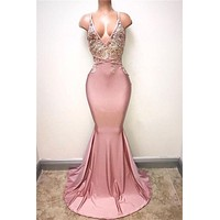 Sexy Mermaid Prom Dress, Special Occasion Dress, Evening Dress, Dance Dresses, Graduation School Party Gown, DT0696