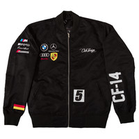 Club Foreign Germany Jacket In Black