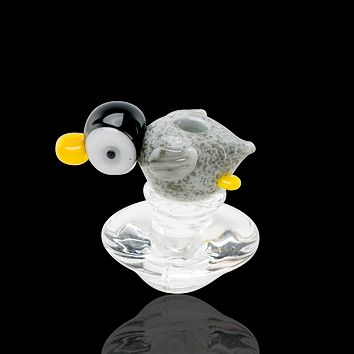 Empire Glassworks Peak Penguin Carb Cap
