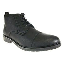 Men's 582 Cap Toe Chukka Lace Up Ankle High Boots