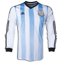 Argentina Jersey Home Long Sleeve  2014