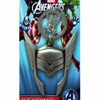 Marvel Thor Helmet Pewter Key Ring