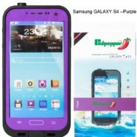 Generic Case for Samsung Galaxy S4 - Non-Retail Packaging - Purple