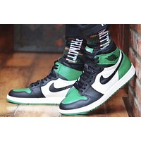 Air Jordan 1 Retro Pine Green