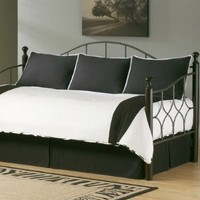 Fashion Bed Group 80JQ400ZEB Paramount Zebra 5-Piece Comforter and Pillow Sham Daybed Ensemble, Twin