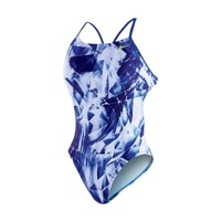 Nike Women's Kaleidotech Cut-Out Back Tank Swimsuit | DICK'S Sporting Goods