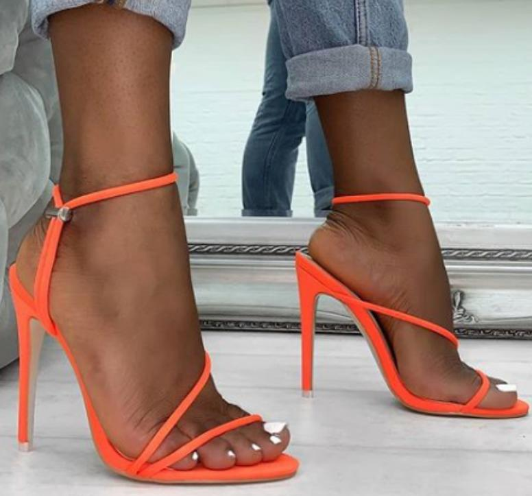 Image of Hot style hot selling sexy high heel side empty sandals