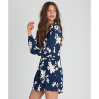 Billabong Heart Strayed Dress | Blue Tide