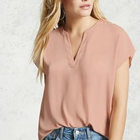 High-Low Popover Shirt