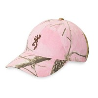 Browning For Her Rimfire Camo Hat - Realtree AP Pink