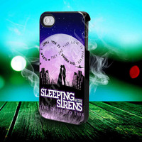 Sleeping With Sirens Infinity Quote - for iPhone 4/4s, iPhone 5/5S/5C, Samsung S3 i9300, Samsung S4 i9500 Hard Case