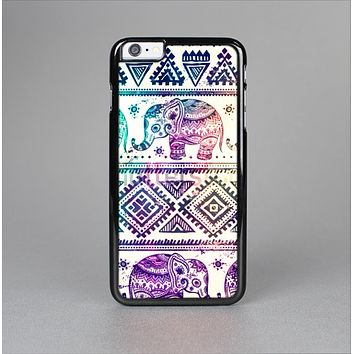 The Tie-Dyed Aztec Elephant Pattern Skin-Sert for the Apple iPhone 6 Plus Skin-Sert Case