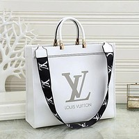 LV Louis Vuitton Letter Print Shoulder Bag Messenger Bag