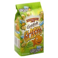 Goldfish Slammin' Sour Cream & Onion Baked Snack Crackers 6.6 oz