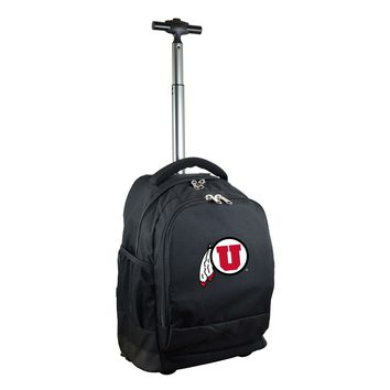 Utah Utes Wheeled Premium Backpack