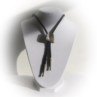 Bolo Necktie with Mother of Pearl Slide