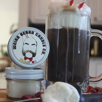 Float On 4oz soy candle - root beer float scented