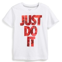 Toddler Boy's Nike 'Just Do It Camo' Dri-FIT Graphic T-Shirt,