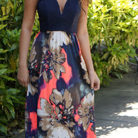 Field of Wildflowers Maxi Dress