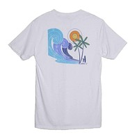 Psychedelic T-Shirt in White by Johnnie-O