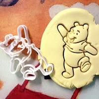 Winnie the Pooh Cookie Cutter - Made from Biodegradable Material