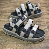 New Balance Silver Slippers Sandals - Sale