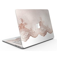 Rose Gold Lace Pattern 9 - MacBook Air Skin Kit