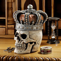 Crowned Skull Gothic Relic Box