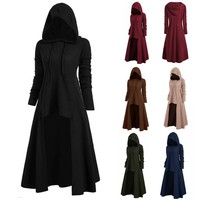 Hooded Vintage Cloak