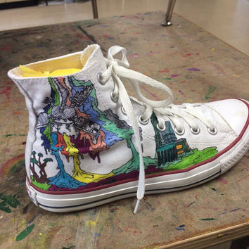 Self-Titled Inspired Converse Shoes