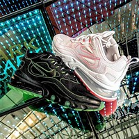Travis Scott x Nike Air Max 270 React atmospheric cushion sports running shoes