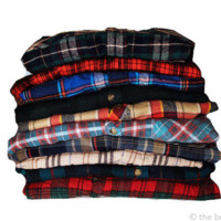5 Pack of Vintage Flannel Mystery Shirts