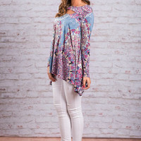 Everything You Love Tunic, Periwinkle