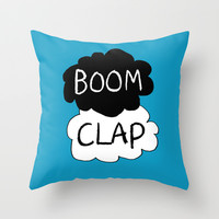 Boom Clap (sound of my heart - TFIOS) Throw Pillow by Tangerine-Tane