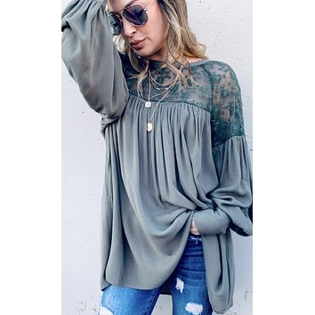 Romantic Day Lace Top