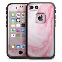 Marbleized Pink Paradise V4 - iPhone 7 LifeProof Fre Case Skin Kit