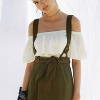 BDG Lizzy Suspender Mini Skirt | Urban Outfitters