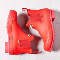 Hunter Original Neon Chelsea Rain Boot- Pink