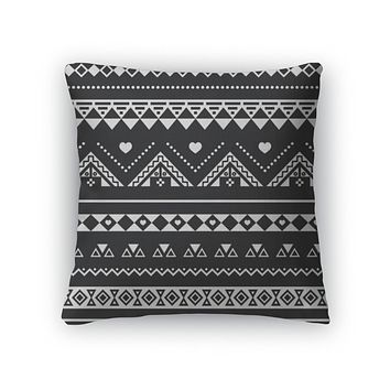 Aztec Tribal Throw Pillow Case