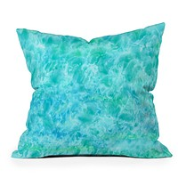Rosie Brown Sparkling Sea Throw Pillow