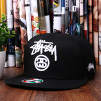 Stussy Embroidered Baseball Cap Hat