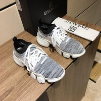 DCCK Givenchy Men's Flyknit Fashion Low Top Sneakers Shoes