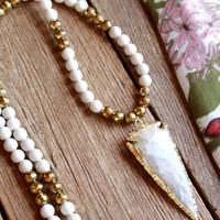 The Chloe Necklace, Cream | BPD