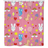 Sugar Spice And Everything Nice Shower Curtain