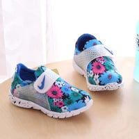 Floral Style Shoes